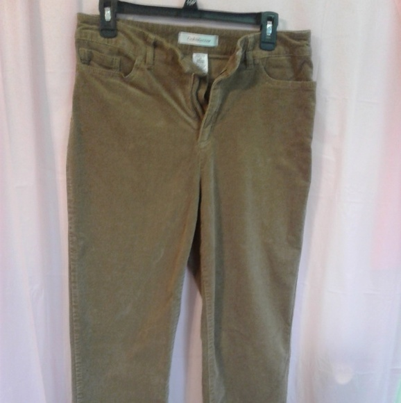 search for authentic for sale up-to-datestyling 👖Croft & Barrow Corduroy Pants 👖